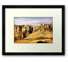 Ronda Andalucia Spain Framed Print