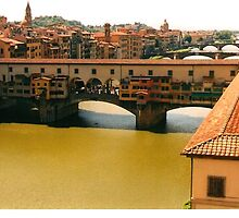 Ponte Vecchio Bridge by IngridSonja