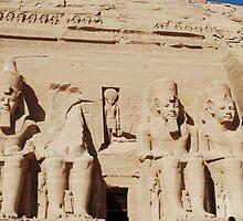 Abu Simbel by Santosh Puthran