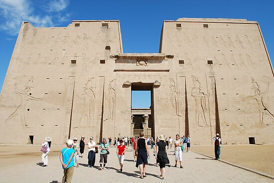 Temple of Edfu by Santosh Puthran