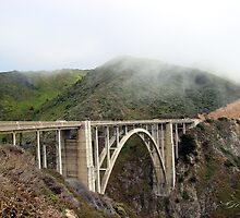 Bixby Creek Bridge, Big Sur California by Gail Jones