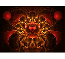 Flaming Passion Photographic Print