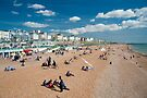 Brighton Beach: Sussex UK by DonDavisUK