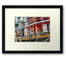 NY - Lil' Tugboat Framed Print