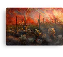 Desert Burn Metal Print