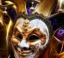 Venetian Mask by Alan E Taylor