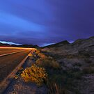 Desert Highway Lights by MattGranz