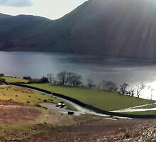 Crummock Water Panorama by GeorgeOne
