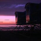 The Life Guard Towers by mAriO vAllejO