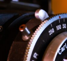 macro of Beltica lens and shutter  by Andrew Jones