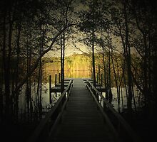 The Dock at Harwood Mills by Darryl Krauch