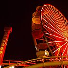 Pacific Ferris Wheel #4 by Stephen Burke