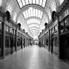 Black & White Market in Cleveland by Tyler Stierhoff
