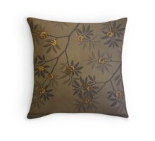 roof detail Natural History Museum London Throw Pillow