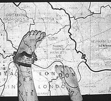 Body Maps - London - Feet by MaggieGrace