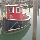 Tugboat At The Dock by schiabor