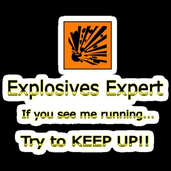Explosives Expert by Craig Stronner