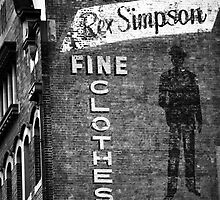 Rex Simpson by Trish Woodford