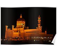 Sultan Omar Ali Saifuddin Mosque, Brunei 1 Poster