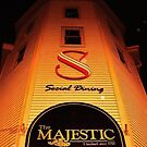 The Majestic Theatre Building by Michael Skeard