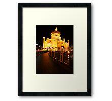 Sultan Omar Ali Saifuddin Mosque, Brunei 2 Framed Print