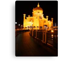 Sultan Omar Ali Saifuddin Mosque, Brunei 2 Canvas Print