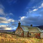 Sheppard's Cottage - Glen Quaich by Angus Clyne