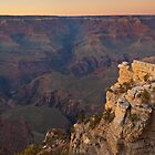 Dusk at the Grand Canyon by Zane Paxton