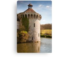 Scotney Castle Kent UK: Turret Detail Canvas Print