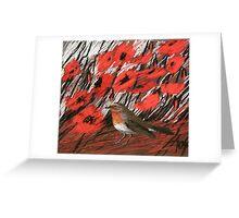 Rotkehlchen Greeting Card