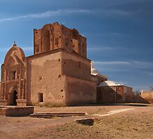 Tumacacori Mission by Richard G Witham