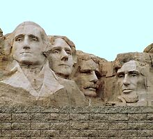 This is  Mount Rushmore ~ South Dakota by Diane Trummer Sullivan