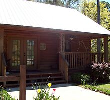 Noccalula Falls Campground~Office by ArtistJD