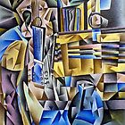 Still Life with Guitar by jomillwood