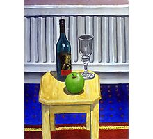 Still-Life on Mini Table Photographic Print