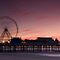 Blackpool Central Pier in the Pink by Stuart1882