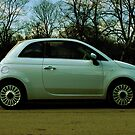 Fiat 500 Parked by DExPIX