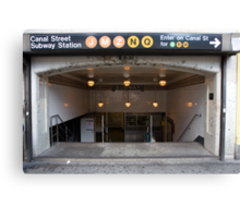 Canal Street Station Canvas Print