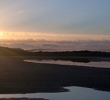 Sunrise over Wilson Inlet Mouth by pennyswork