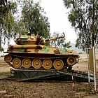 Iraqi Army Scout Tank by Charles Buchanan