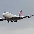 Delta 747 by gfydad