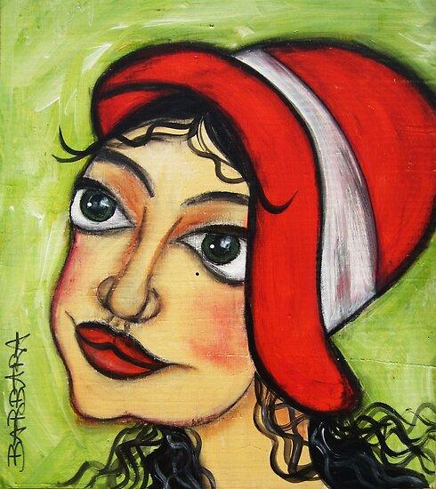 YVETTE by Barbara Cannon  ART.. AKA Barbieville