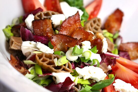 Insalata Mista con Pasta Marone by SmoothBreeze7