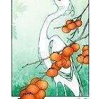 Snowy Egret by Kiri Moth