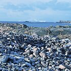 Blue Winter along the Burra Coast by BeShetland