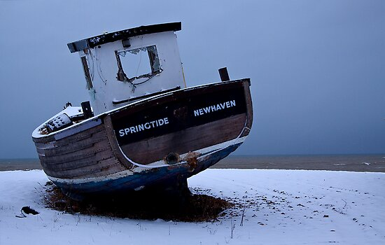 Snowy Springtide by Gary Gurr