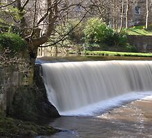 dean village weir - Edinburgh by Bilko67