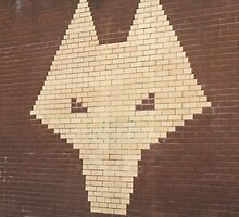 wolf on the wall by StuartBoyd