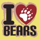 I heart Bears by Alexander Evans