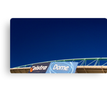 Telstra Dome Canvas Print